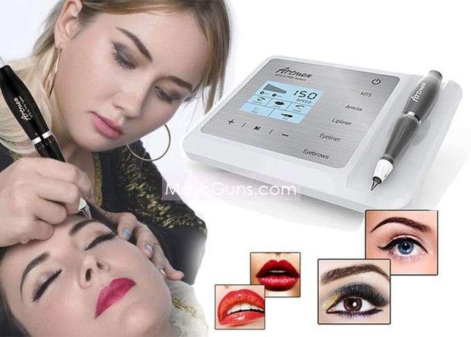 Digital Eyebrow Tattoo Machine Microneedle permanent makeup machine kit V9